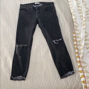 FP cropped skinny jeans